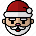 christmas, december, father christmas, holiday, santa, santa claus, winter icon