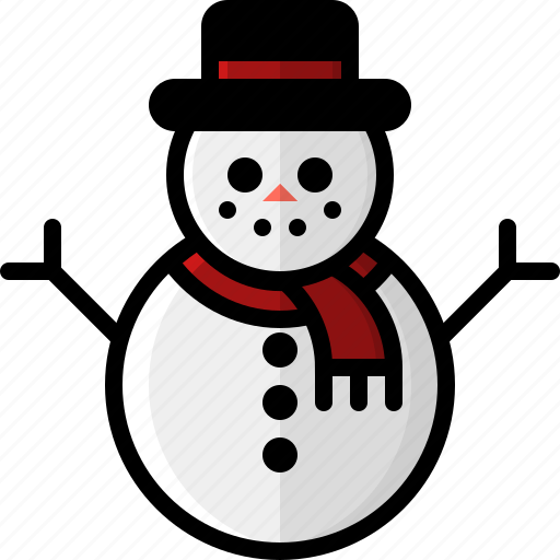 christmas, frosty, holidays, snow, snowman, weather, winter icon