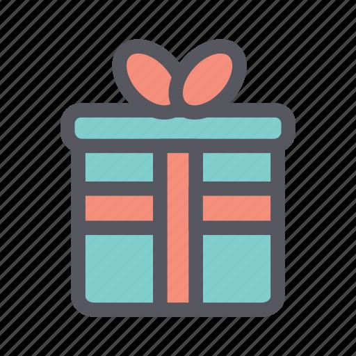 christmas, christmas gift, gift, present icon