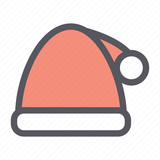 christmas, decoration, hat, santa hat, winter hat icon