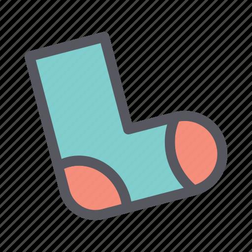 christmas, christmas sock, christmas stocking, sock, socks, stocking icon