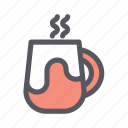 christmas, christmas drink, coffee, hot drink, mug, tea, winter drink icon