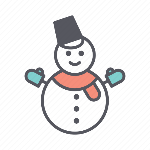 christmas, christmas fun, fun, snow, snowman, winter, winter fun icon