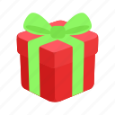 celebration, christmas, decoration, gift, holiday, present, sack icon