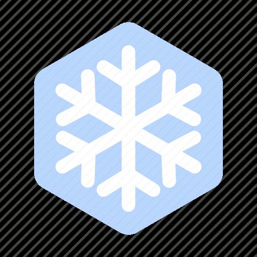 christmas, decoration, holiday, snow, snowflake, weather, winter icon