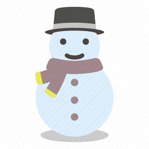 christmas, decoration, holiday, snow, snowman, weather, winter icon