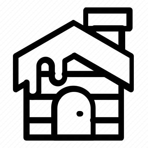 cabin, home, house icon