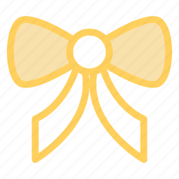 bow, christmas, decoration, ornament, ribbon icon