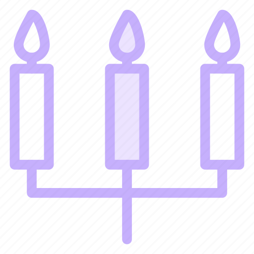 birthday, candles, celebration, christmas, light icon