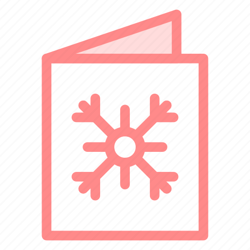 card, christmas, greeting, invitation, snow icon
