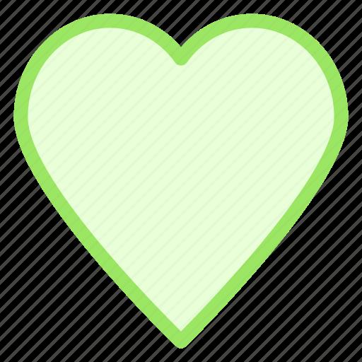heart, heartbeat, like, love, peace icon