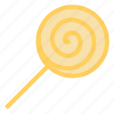 candy, dessert, lollipop, spiral, sweet icon