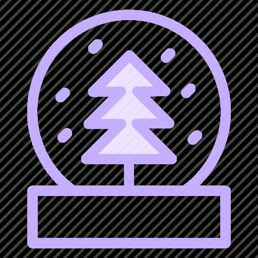 Christmas, globe, snow, winter, xmas icon - Download on Iconfinder