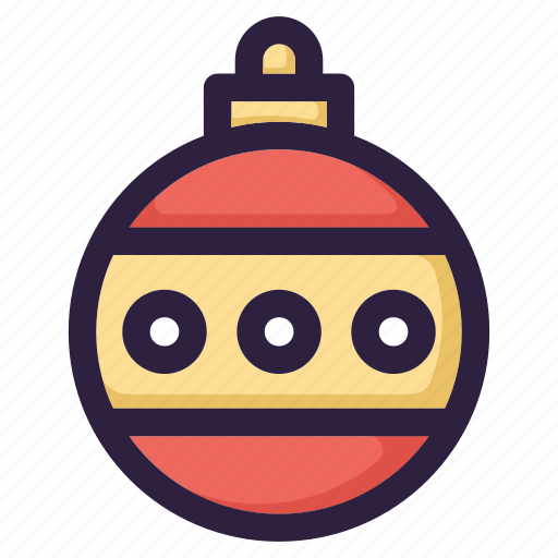 ball, celebration, christmas, decoration, snow, winter, xmas icon