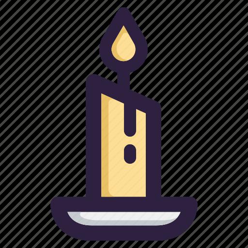 candle, celebration, christmas, decoration, santa, winter, xmas icon