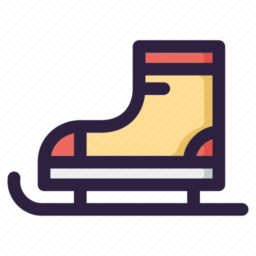 boots, christmas, shoes, ski, snow, winter, xmas icon