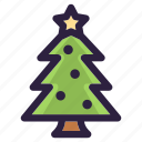 christmas, decoration, gift, santa, tree, winter, xmas icon