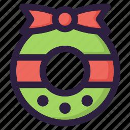 christmas, decoration, family, snow, tree, winter, xmas icon