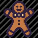 christmas, cookie, santa, snow, sweet, winter, xmas