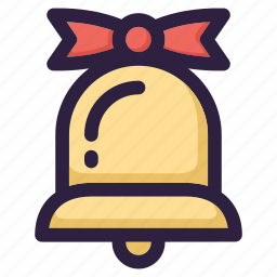 bell, celebration, christmas, decoration, snow, winter, xmas icon