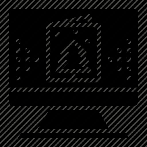 christmas, day, ecard, online, sending icon