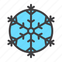 cold, cristmass, decoration, snow, snowflake, winter icon