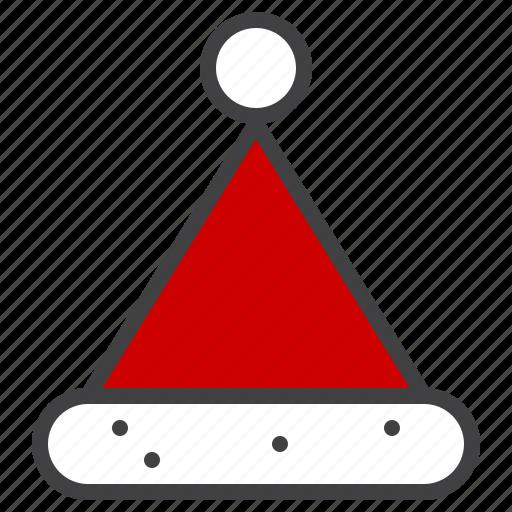 claus, cristmass, hat, santa icon