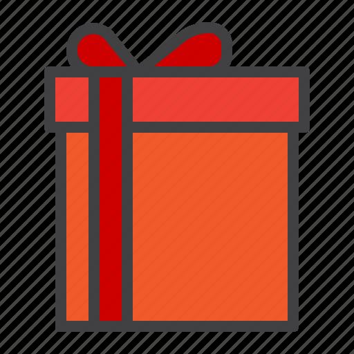 box, cristmass, gift, present, ribbon, surprise icon