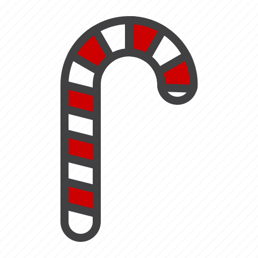 candy, cane, cristmass, peppermint, sweet icon
