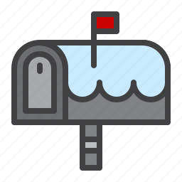 mail, mailbox, outdoor, post, postbox icon