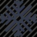 snow, snowflake, winter icon icon