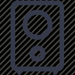 box, christmas, music, speaker icon icon