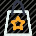 bag, christmas, christmas bag, shopping bag icon icon