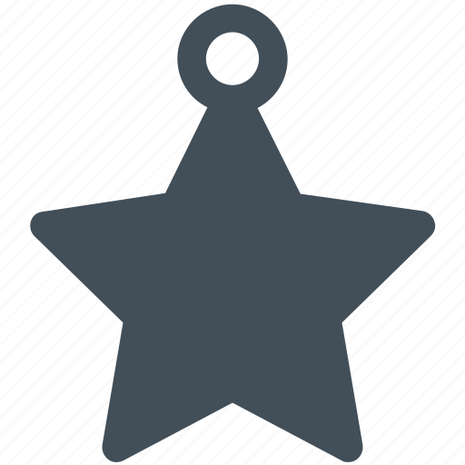 christmas, decoration, ornament, star, universe icon icon