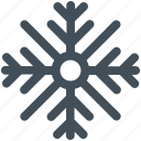 snow, snowflake, winter icon icon