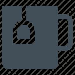 christmas, coffee, cup, hot, mug, tea, winter icon icon