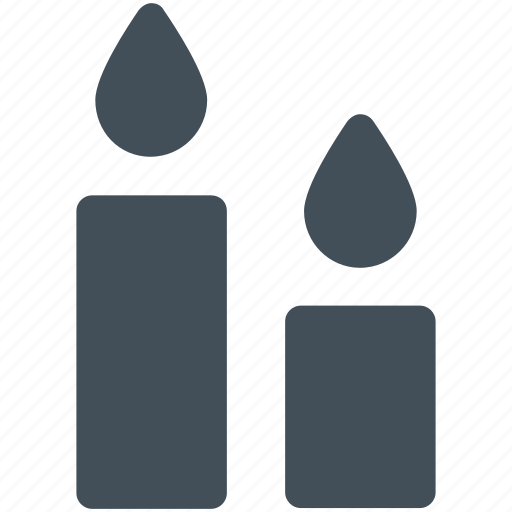 candle, christmas, light icon icon