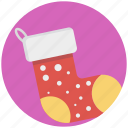 christmas socks, footwear, hosiery, sock, stocking icon