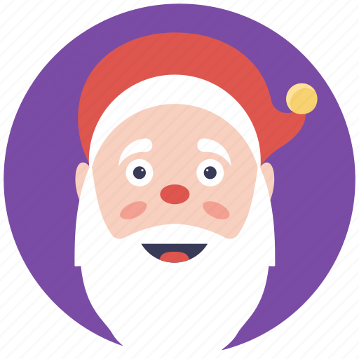 santa beard, santa claus, santa closeup, santa mask, symbol of santa icon