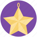 christmas decoration, christmas star, decorative element, decorative star, star icon