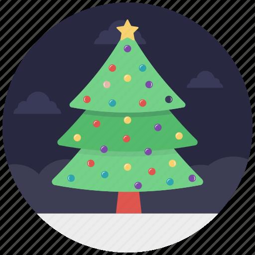 christmas tree, decorative tree, fir tree, tree, xmas tree icon