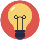 bulb, electricity bulb, lamp light, light, light bulb icon