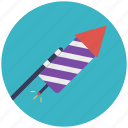 celebration element, firecracker, firework, firework rockets, sparkler icon