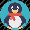 christmas animal, christmas penguin, holiday penguin, penguin
