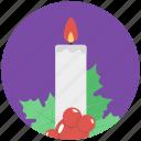 candle, candlelight, candlestick, celebration, christmas candle, decoration element
