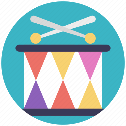 drum, drummers, festive celebration, music drums, music instrument icon