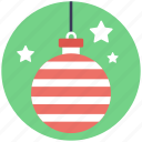 bauble, bauble ball, christmas ball, christmas bauble, decoration element icon