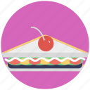 bakery item, bread food, food, sandwich, snakes icon