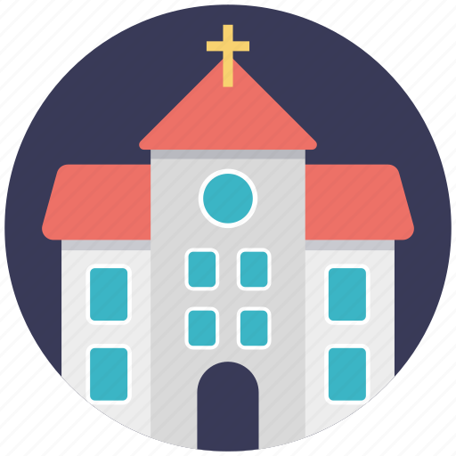 cathedral, chapel, church, church building, temple icon