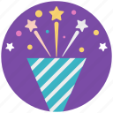 birthday hats, cone hats, hats, party caps, party hats icon